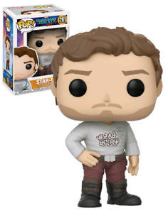 FIGURA POP! GUARDIANS OF THE GALAXY VOL.2 (STAR-LORD WITH GEAR SHIFT SHIRT) nº261