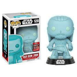 FIGURA POP! STAR WARS (HOLOGRAPHIC QUI-GON JINN) SW-CELEBRATION 2017 nº128