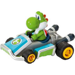 YOSHI BLISTER COCHE PULL BACK ACTION