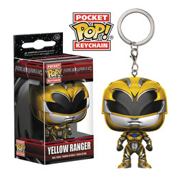 LLAVERO POCKET POP! POWER RANGER (YELLOW RANGER)