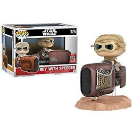 FIGURA POP! STAR WARS (REY WITH SPEEDER)