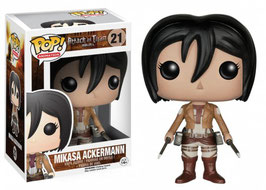 FIGURA POP! ATTACK OF TITAN (MIKASA ACKERMANN) nº21