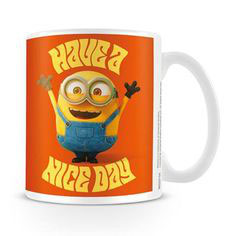 TAZA MINION - HAVE A NICE DAY