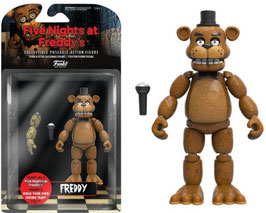 FIGURA ARTICULADA FIVE NIGHTS AT FREDDY'S (FREDDY)
