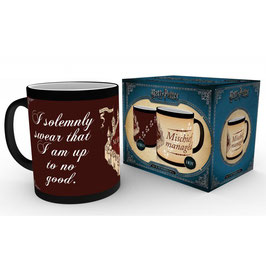 TAZA HARRY POTTER SENSITIVA AL CALOR I SOLEMNLY SWEAR