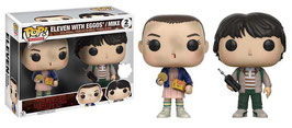FIGURA POP! STRANGER THINGS (ELEVEN WITH EGGOS/MIKE) 2-PACK