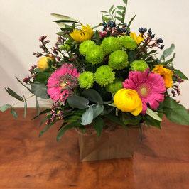 Bouquet rond Dora