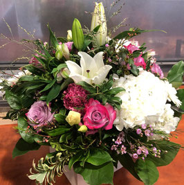 Bouquet rond Zeus