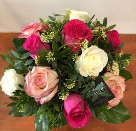 Bouquet rond Adélaïde