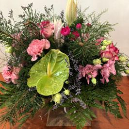 Bouquet rond Rosalie