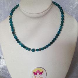 apatite collier perles 6mm / 8mm