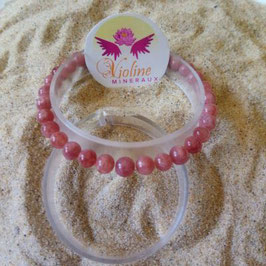 pierre de soleil, bracelet perles 6mm