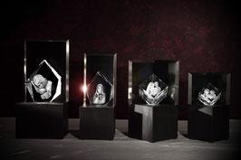 Premium 3D-Glaskristalle