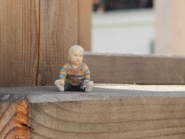 Nachdruck 3D-Figur (Kind auf dem Arm)