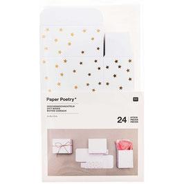 Paper Poetry Adventskalenderboxen 24-teilig