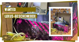 WANTED LUXUS-GESCHENKBOX