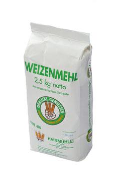 Weizenmehl (2,5kg, 10kg)
