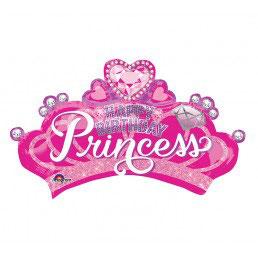 Tiara palloncino principesse