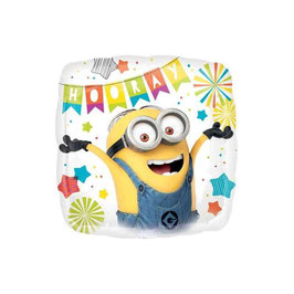 """Palloncino 18"""" mylar Minions Party"""