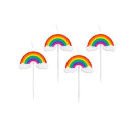 candeline rainbow