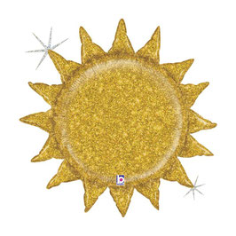 """Palloncino 30"""" Super Shape Sole """"Sun Glitter"""""""