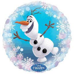 Palloncino Mylar Frozen Olaf 1 pezzo 45 cm