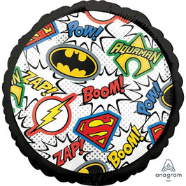 """Palloncino 18"""" mylar Loghi """"Justice League"""""""