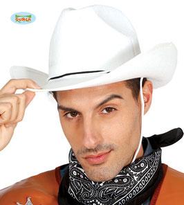 Cappello cowboy bianco