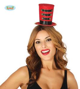 Cerchietto con cappellino circo