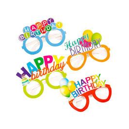 Occhiali Happy Birthday Assortiti 6pz