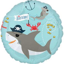 Palloncino squalo e polipo