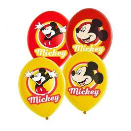 Palloncini Lattice Mickey Mouse 6 pezzi 23 cm