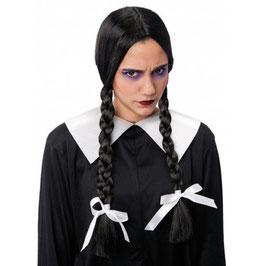 Parrucca Mercoledì Addams