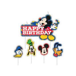 Candelina sagomata Mickey Mouse Disney