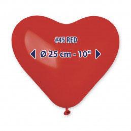 Palloncini lattice cuore rosso