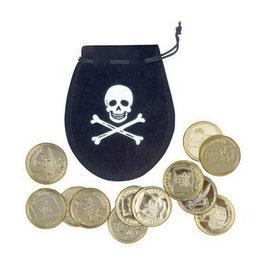 Sacchetto con 12 monete
