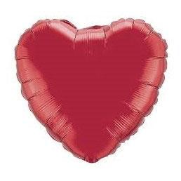 Palloncino mylar Cuore Rosso grande