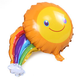 Palloncino sole e arcobaleno