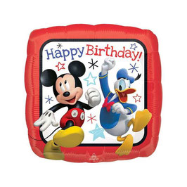 "Palloncino 18"" mylar Mickey Happy Birthday"