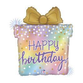 Palloncino Happy birthday pacchetto