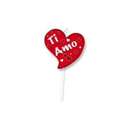 Candelina Picks Heart Ti Amo