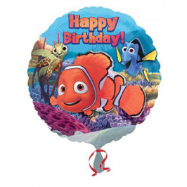 Palloncino happy birthday nemo
