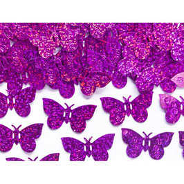 Confetti farfalle fuxia