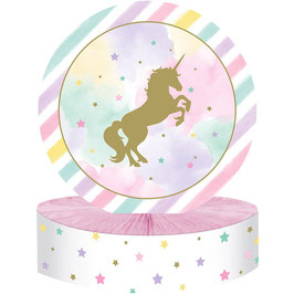 Centrotavola unicorno