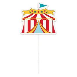"""Cake Topper Circo """"Circus Carnival"""""""