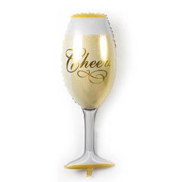 Palloncino flute champagne