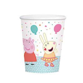 Bicchiere Peppa Pig 8pz