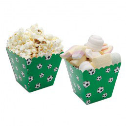 Box Porta Caramelle/Pop Corn Calcio