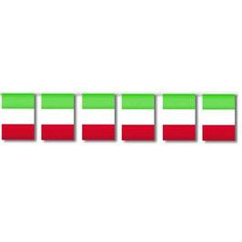Festone Bandiere Tricolore Italia 5mt