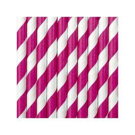 Cannuccia Spiral Bianco e colori vari 10pz